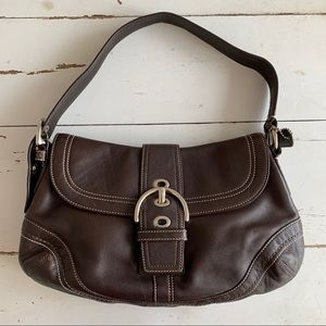 Coach Soho Brown Leather Purse